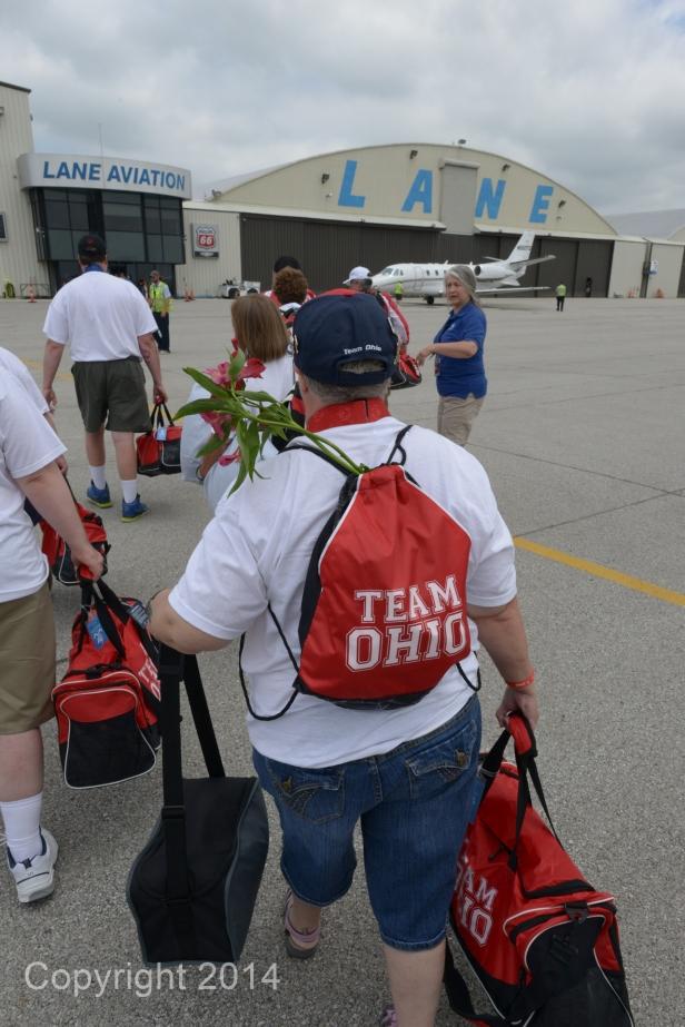Team Ohio Returns Home
